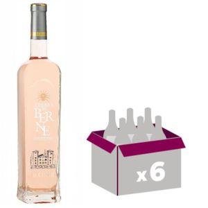 VIN ROSÉ Terres de Berne Rosé 2017 Côtes de Provence 6x75cl