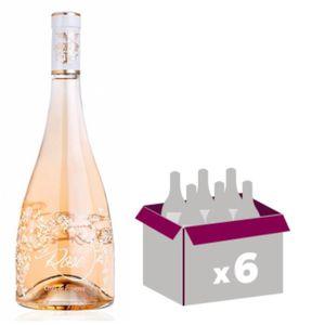 VIN ROSÉ La Vie En Rose 2017 Château Roubine  x6 Côtes de P