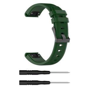 BRACELET DE MONTRE pour Garmin Fenix 5 Plus Band Easy Fit 22mm Largeu