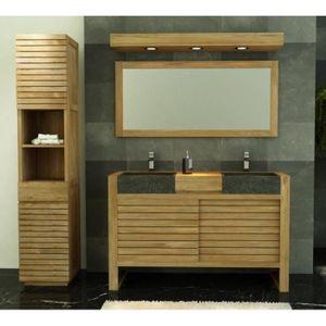 Meuble salle de bain en teck - Achat / Vente Meuble salle de bain ...