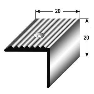 RAMPE - MAIN COURANTE 3 x 2,7 mètres Nez de marche - cornière pour escal