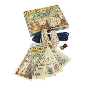 PARTITION Authentic Models for Kids Learn the Ropes Knot Kit