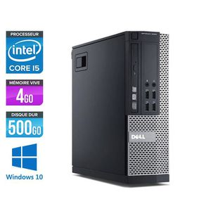 ORDINATEUR TOUT-EN-UN Pc de bureau Dell 7010 - Core i5-3470 - 4Go - 500G