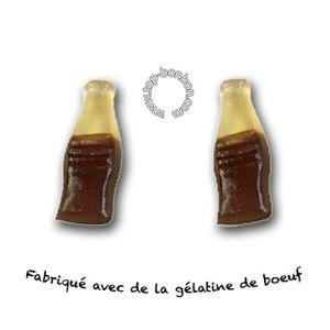 CONFISERIE DE SUCRE Bouteille cola lisse Fini Halal