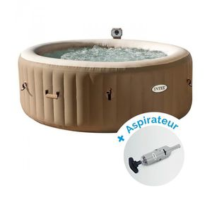 SPA COMPLET - KIT SPA Pack Spa gonflable Intex PureSpa Bulles 4 personne