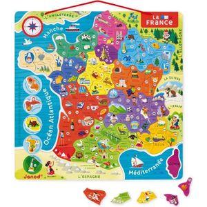 PUZZLE Puzzle 93 pièces : La France magnétique aille Uniq