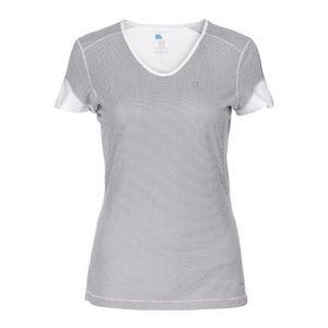 bbbedc0e7c81 MAILLOT DE RUNNING SALOMON T-shirt de running - Femme - Blanc