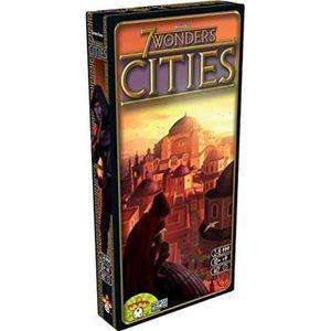 JEU SOCIÉTÉ - PLATEAU 7 WONDERS - Extension Cities - Jeu de société