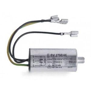 PIÈCE LAVAGE-SÉCHAGE  Condensateur antiparasite 2x0,027ufx1y pour lave l