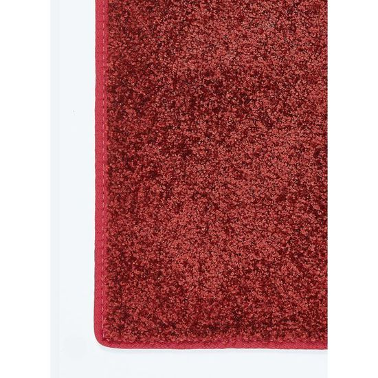 Tapis Salon Access Rouge 200x200 Par Unamourdetapis Tapis Moderne
