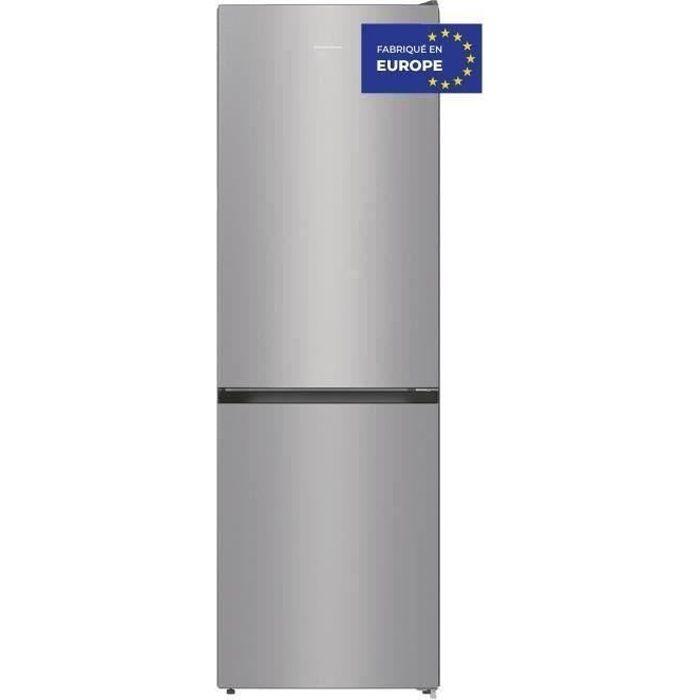 HISENSE RB410D4BD2 - Réfrigérateur congélateur bas - 314L (206L+108L) - froid brassé et statique - 1