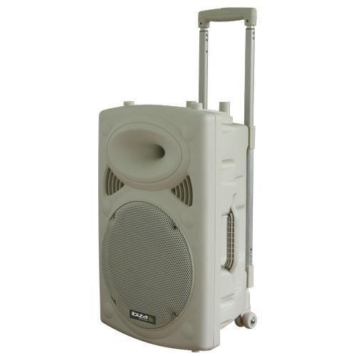 IBIZA PORT15VHF-BT-WH Système de sonorisation portable autonome 15\