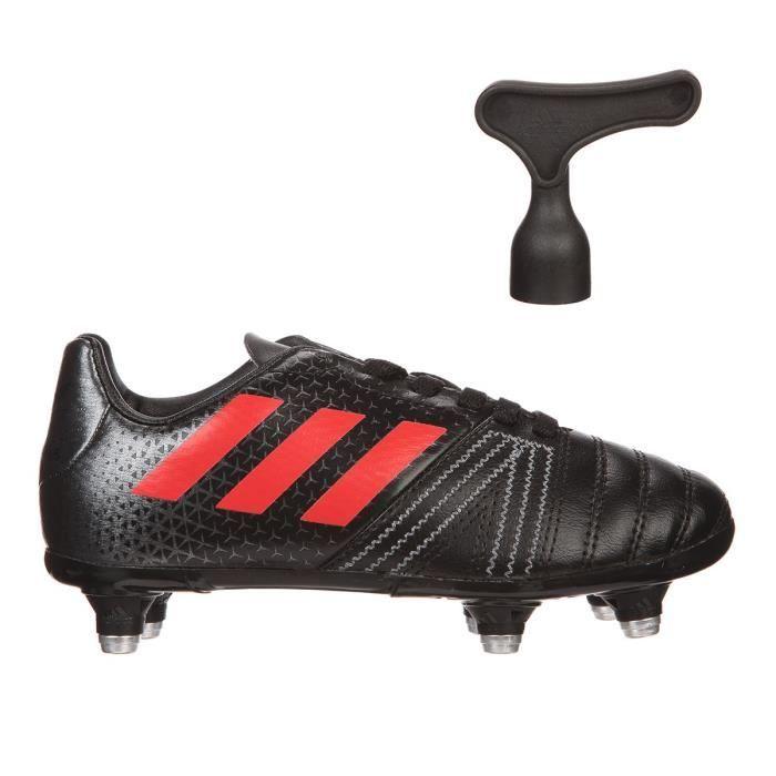 buy online b65c2 abcb7 ADIDAS Chaussures de rugby All Blacks - Enfant garçon - Noir et jaune