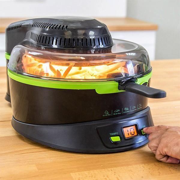 FRITEUSE ELECTRIQUE Friteuse électrique sans huile Multifonction 3 lit 20b09513bef4