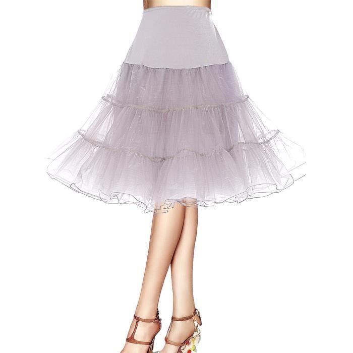 Bbonlinedress Jupon femme style années50 Jupon Rockabilly 4 tailles à  choisir 08727397fbb5