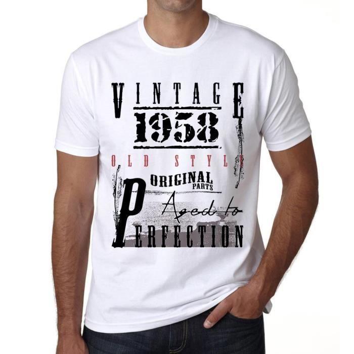 1958 Tshirt Cadeau D Anniversaire Vintage Tshirt Tshirt Homme