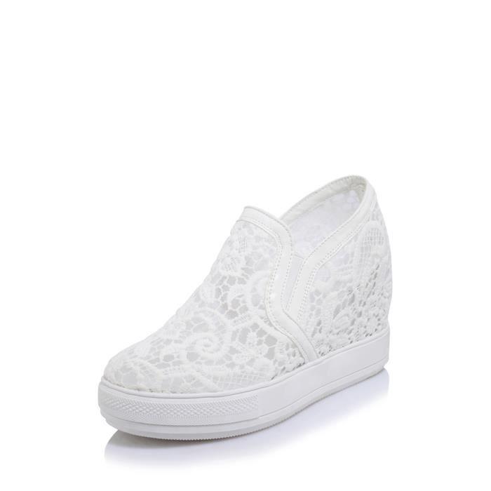 chaussures multisport SLIP des femmes Ons Floral de dentelle Vamp Ventiler Wdege 3848194