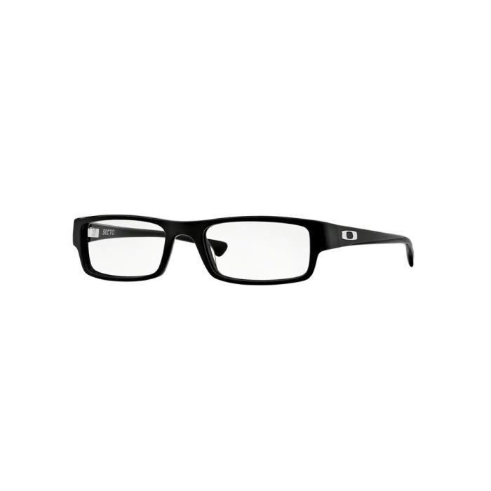 94e09477f73660 Lunettes de vue Oakley Homme SERVO OX1066 106601 Noire 55 x 30,8 ...