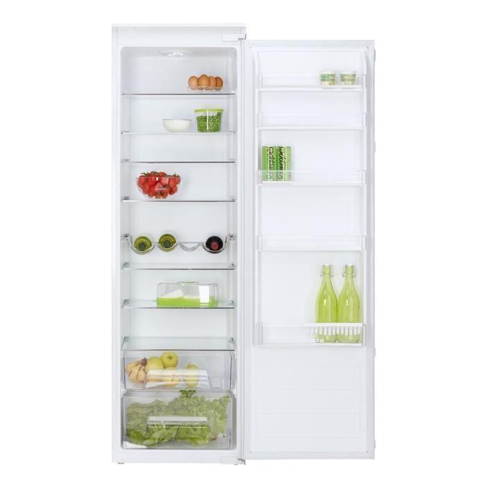 Idee Deco Réfrigérateur Congélateur Porte Intégrable - Refrigerateur encastrable 1 porte