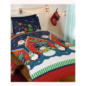 housse de couette pingouin achat vente housse de couette pingouin pas cher cdiscount. Black Bedroom Furniture Sets. Home Design Ideas
