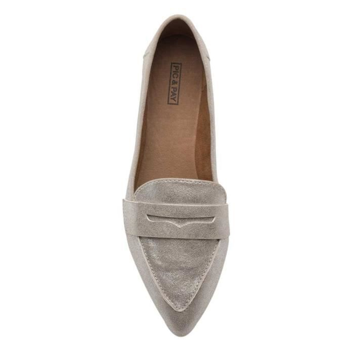 Margo Flats - Pointy Toe Penny Mocassins T21J9 Taille-39 1-2