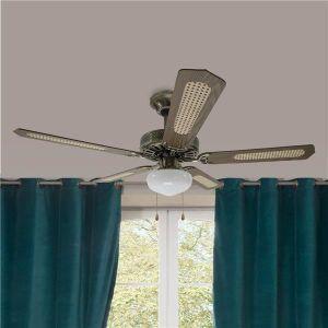 ventilateur de plafond 5 pales achat vente pas cher. Black Bedroom Furniture Sets. Home Design Ideas