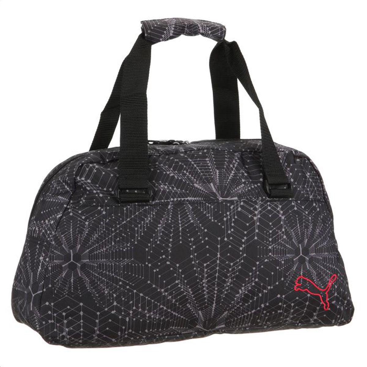 8ed067b97c PUMA Sac Sport Femme Noir et gris - Achat / Vente sac de sport ...
