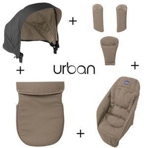 POUSSETTE  CHICCO Pack Coloris Urban Beige