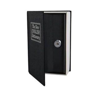 COFFRE FORT Livre Coffre fort Noir a clef – Petit coffre fort