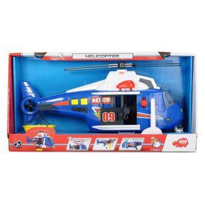 DRONE Dickie Toys Lumière et son hélicoptère 2NZPVG
