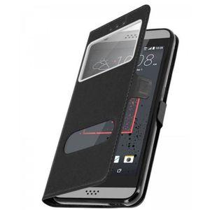 COQUE - BUMPER Coque Etui Housse 2 Fenêtres décrochage rapide HTC