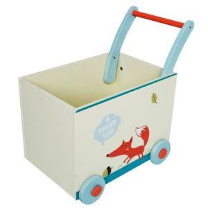 chariot bois bebe achat vente jeux et jouets pas chers. Black Bedroom Furniture Sets. Home Design Ideas