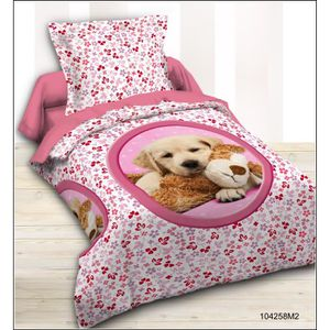 Housse de couette chien achat vente housse de couette chien pas cher cdiscount - Parure de lit 2 personnes enfant ...