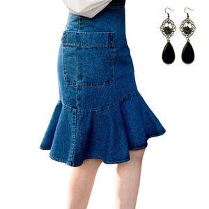 Jupe en jean femme taille 46