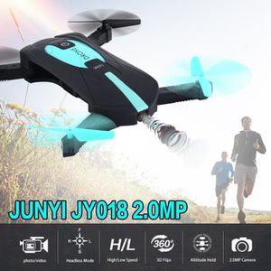 DRONE Quadcopter mini drone RC selfie pliable avec 2MP c