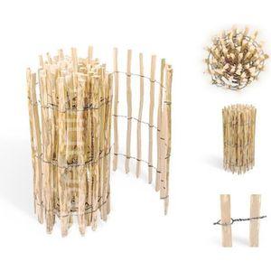 cloture bois nievre