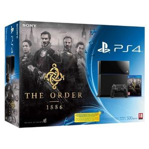 CONSOLE PS4 PS4 500Go NOIR + The Order 1886 pack