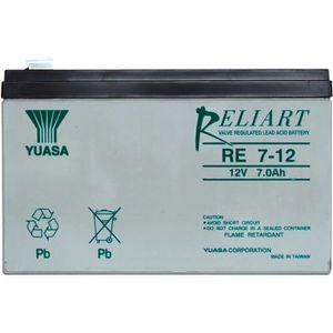 BATTERIE DOMOTIQUE Batterie plomb 12V 7 Ah Yuasa RE7-12