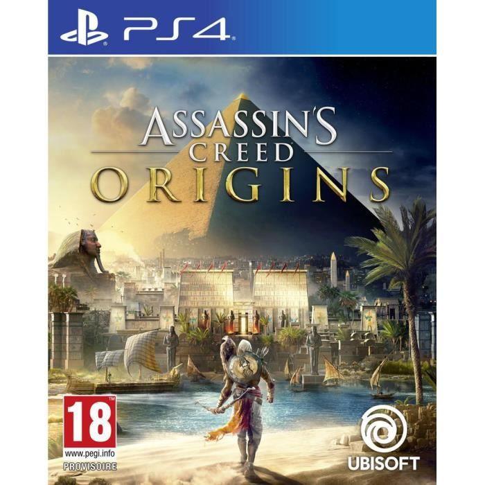 JEU PS4 Assassin's Creed Origins Jeu PS4