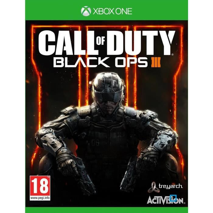 Call Of Duty Black Ops 3 - Jeu Xbox One