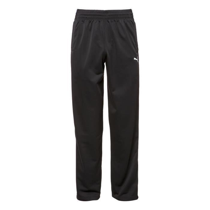 PUMA Pantalon de survêtement Homme - Noir et blanc