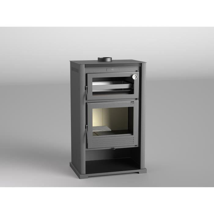 poele a bois m 107 avec four double combustion achat vente po le insert foyer poele a. Black Bedroom Furniture Sets. Home Design Ideas
