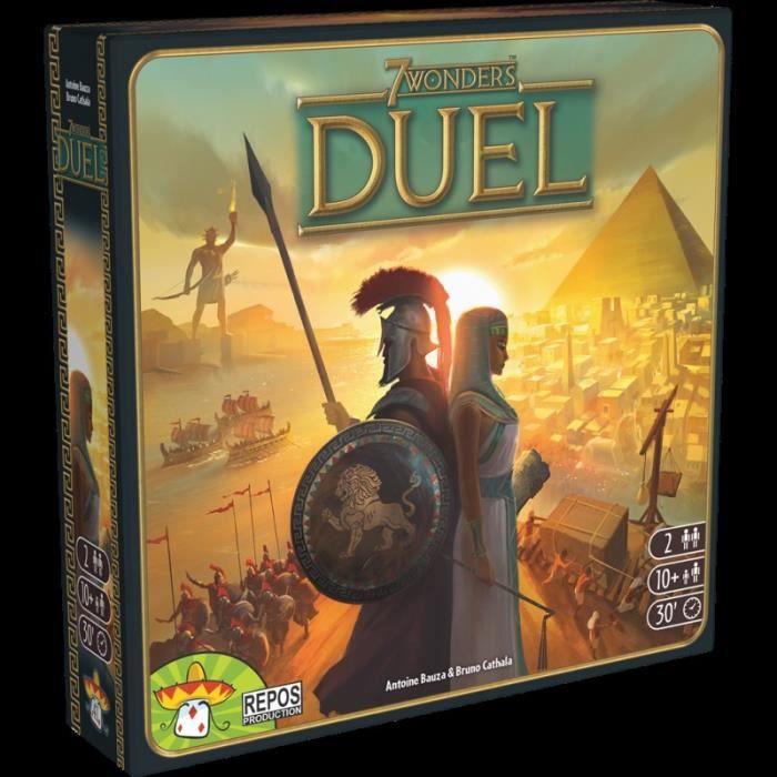 Asmodee 7 Wonders Duel Jeu Autonome Pour 2 Joueurs De