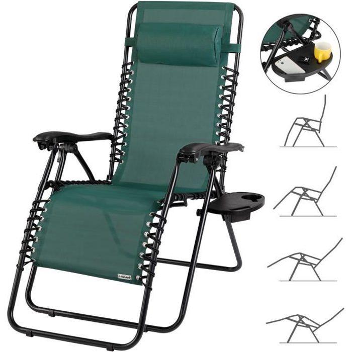 chaise longue pliante cdiscount
