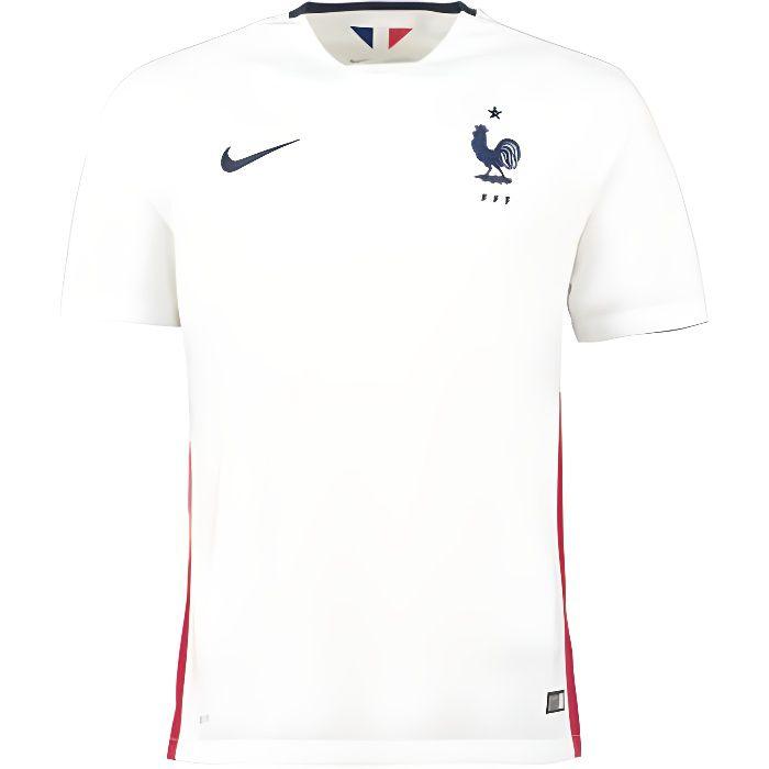 nouveau maillot equipe de france nike blanc 2015 blanc blanc achat vente t shirt maillot de. Black Bedroom Furniture Sets. Home Design Ideas