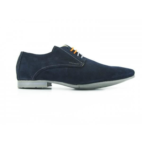 ANDREW MacALLISTER Chaussures Derby 59-92 Velours Gris- Couleur - Gris YqnLSN