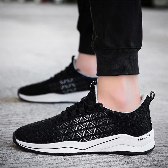 Sneakers Plus Homme 2018 Antidérapant Ccy Personnalité Chaussures Confortable De Luxe Résistantes Baskets Loisirs Couleur dCBoxe