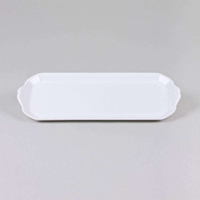 revol plat cake 39x16 porcelaine blanche achat vente plat pour four revol plat cake. Black Bedroom Furniture Sets. Home Design Ideas