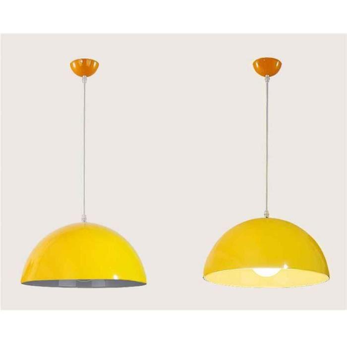Suspensions E27 En Luminaire Jaune Luminaires Suspension Plafonnier Moderne R Lustre Métal Lumiere 1pcs Stoex® 9IDH2EW