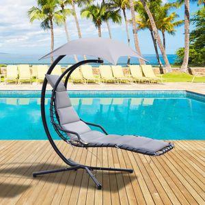 chaise longue transat achat vente chaise longue. Black Bedroom Furniture Sets. Home Design Ideas